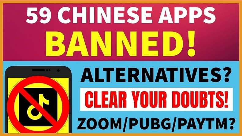 Best Alternative for 59 Banned Chinese Apps , alternative apps for chinese apps