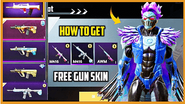 How to get free gun skin in PUBG Mobile